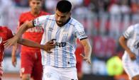 Cristian Villagra, jugador de Atlético Tucumán. Foto: La Nación / GDA
