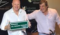 Orlando Petinatti y Sergio Botana