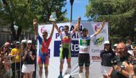 Richard Mascarañas ganó la séptima etapa de Rutas de América. Foto: San Antonio Team