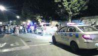 Un disparo a quemarropa en pleno desfile de carnaval conmocionó la ciudad. Foto: Radio Lavalleja