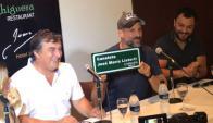 Sergio Botana, Jose María Listorti y Lucas Sugo