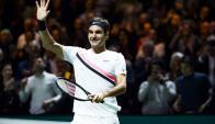 Roger Federer logró el título 97 de su carrera