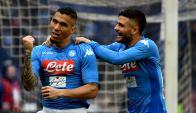 Un gol de Allan le dio otra victoria más a Napoli