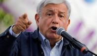 López Obrador se presenta por tercera vez como candidato. Foto: AFP