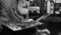Torres-García mantenía un vínculo cercano con Picasso. Foto: Archivo El País