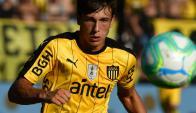 Agustín Canobbio en Peñarol. Foto: Nicolás Pereyra