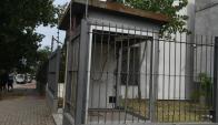 Hicieron explotar un cajero en Villa Española. Foto: Ariel Colmegna.