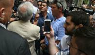 El presidente Vázquez se reúne con colonos. Foto: Ariel Colmegna.