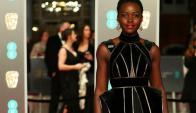 Lupita Nyong'o, una fashionista suelta en Reino Unido