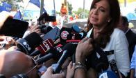 Cristina Fernández de Kirchner. Foto: Reuters