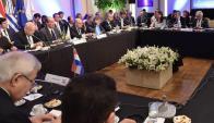 En la última instancia de diálogo de 2017, se buscaba un acuerdo político, pero no fue posible. Foto: EFE