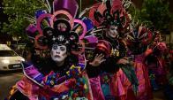 Patos Cabreros en el desfile inaugural del Carnaval 2018