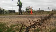 Alerta: el trabajo fronterizo lleva a los soldados al norte. Foto: Archivo El País