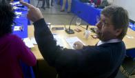 Miranda quiere ante críticas, que todos los partidos defiendan en conjunto a la actividad política. Foto: Fernando Ponzetto