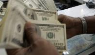 Dólar. Foto: AFP