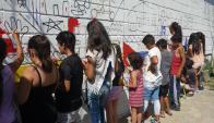 Talleristas del Museo Torres García llegaron a las 13 escuelas de Montevideo. Foto: Museo Torres García