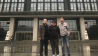 Rita Carrizo, Fernando Gordiola y Zhang Dehui. Foto: Lifan