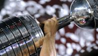 El trofeo de la Copa Libertadores. Foto: AFP