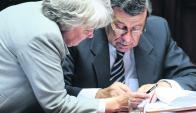 El canciller y la vicepresidenta analizaron la situación de Maduro en el gabinete con Vázquez. Foto: F. Flores