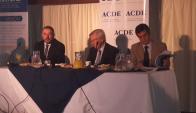 Foro de ACDE con el equipo económico. Foto: @mef_Uruguay