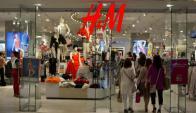 H&M: el gigante sueco arribará este año a el país. Foto: AFP