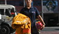 La vocera de Bomberos, Mariela Vivone, estime que este año habrá menos incendios. Foto: F. Flores