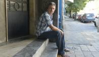 José Demarco trabaja como guardia de seguridad y busca rehacer su vida en Uruguay. Foto: D. Borrelli