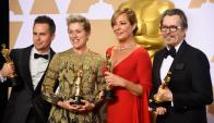 Los actores y actrices ganadores del Oscar 2018.