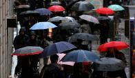 Lluvia. Reuters