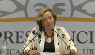 María Julia Muñoz. Foto: captura Presidencia
