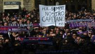 Miles de aficionados le dieron el último adiós a Davide Astori