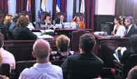 Audiencia. La Suprema Corte analiza un recurso de revisión. Foto: F. Flores