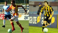 Leandro Onetto y Diego Forlán.