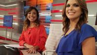 Yisela Moreira y Valeria Alonso