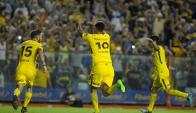 Boca Juniors venció a Tigre como local en La Bombonera. Foto: ARP.
