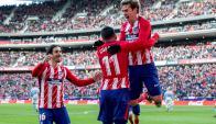 Atlético de Madrid goleó 3-0 al Celta de Vigo en el Wanda Metropolitano. Foto: EFE.