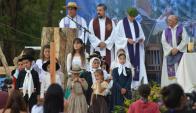 En la mañana de ayer se realizó la tradicional Misa Criolla. Foto: Patria Gaucha