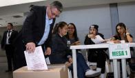 Votó casi el 60% del padrón en comicios legislativos no obligatorios. Foto: Reuters