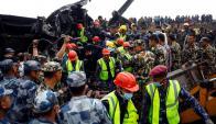 El avión realizaba el trayecto con 67 pasajeros. Foto: EFE