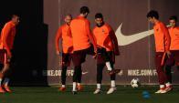Sequía. Suárez no anotó en los últimos nueve partidos de Barcelona por la Champions. Foto: Reuters