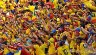 La hinchada de Colombia respaldará con fuerza a su selección