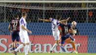 Gol decisivo: Churín, en offside, anota el 2-1 definitivo para Cerro Porteño.