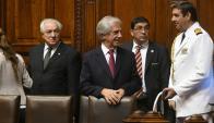 Homenaje a Wilson en el Parlamento. Foto: Francisco Flores
