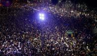 Conmoción en Río de Janeiro por el asesinato de Marielle Franco. Foto: Reuters
