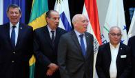 Los cancilleres de los países miembros del bloque se reunieron en Paraguay. Foto: EFE