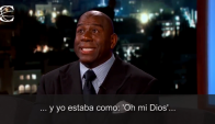 Magic Johnson y una divertida anécdota sobre Jordan. Foto: Captura