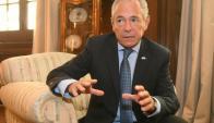 Mario Barletta, embajador argentino en Uruguay. Foto: Francisco Flores