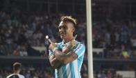 Lautaro Martínez. Foto: @RacingClub
