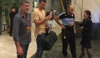 Fernando Muslera arribó a Nanning para disputar con Uruguay la China Cup