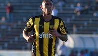 Juvenil. Franco Martínez cumplirá 20 años en noviembre. Foto: Ariel Colmegna